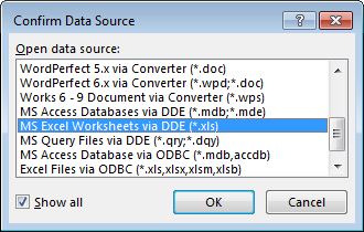confirm data source2